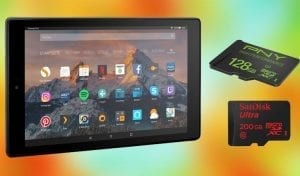 HDMI tablet with SD card