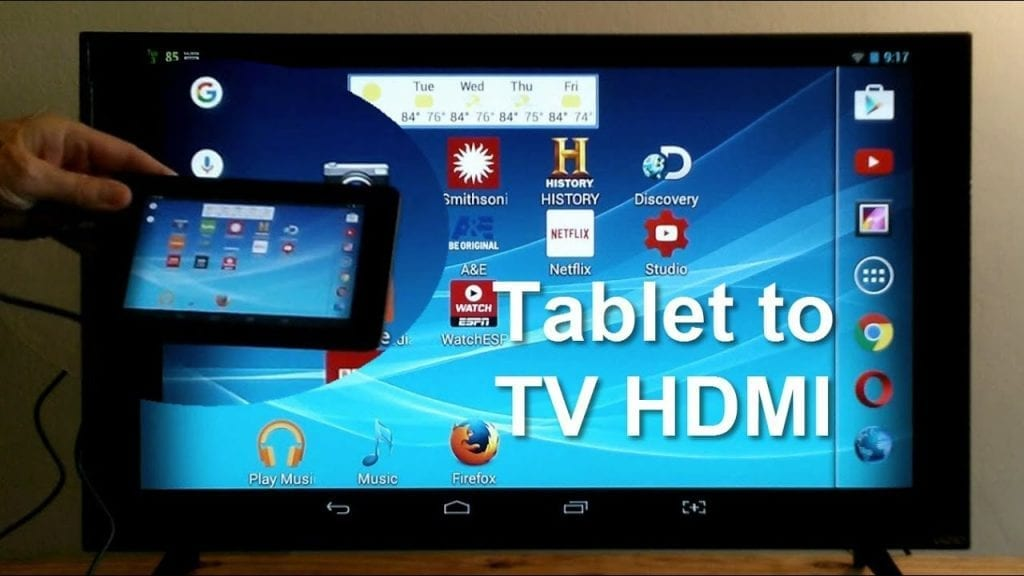 tablet to tv HDMI
