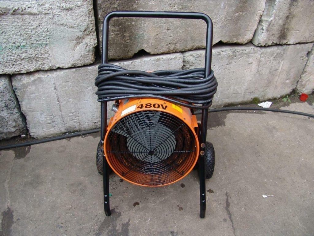 electric salamander heater